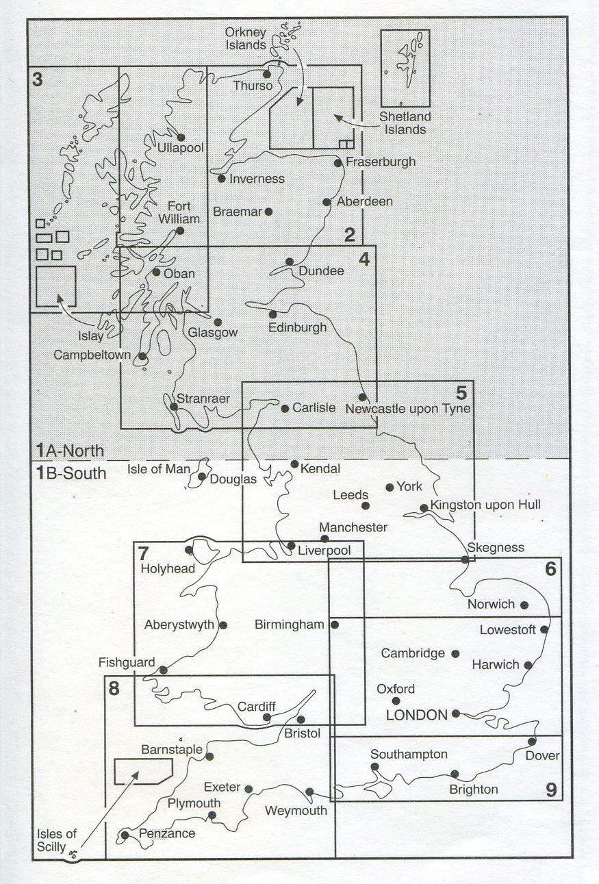 Administrative Boundary Map Electoral Boundaries Sheet 1a – Map Uk Os